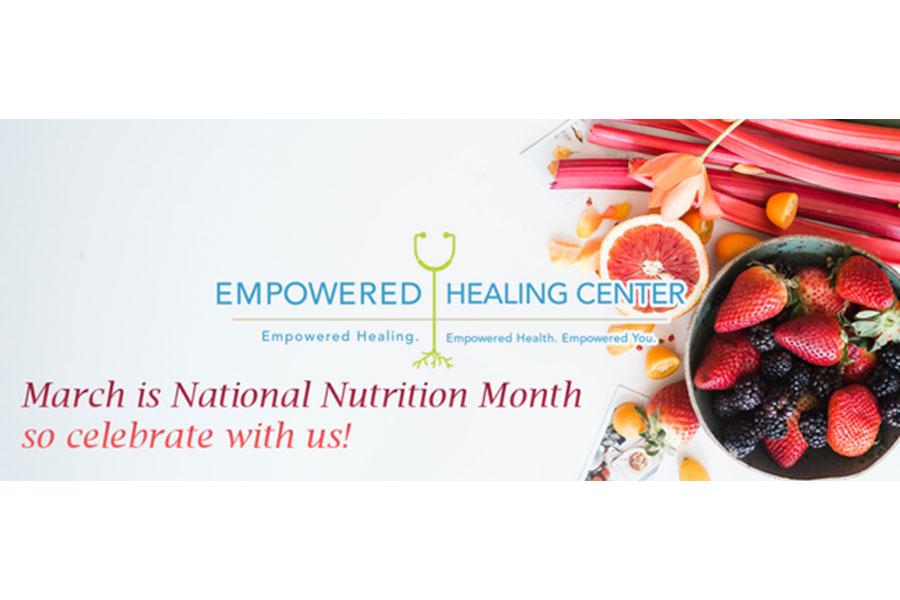 ¡Feliz mes de nutrición!