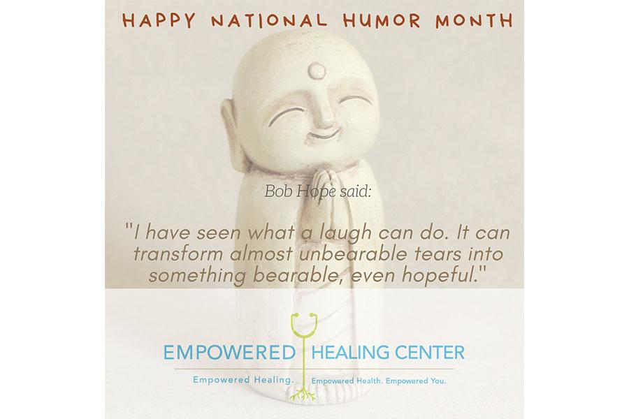 ¡Feliz mes nacional del humor!