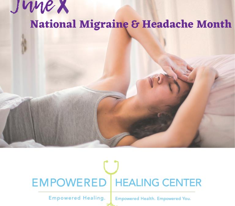 Mes nacional de concientización sobre la migraña y el dolor de cabeza