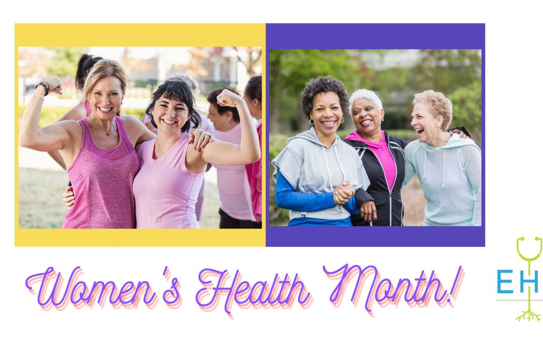 Mes de la salud mental y mes de la salud de la mujer